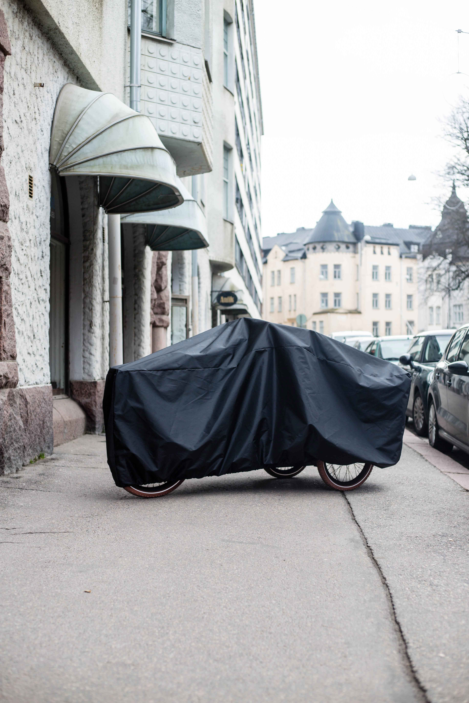 Wheelström cargobike cover lådcykel skydd laatikkopyörän suojus