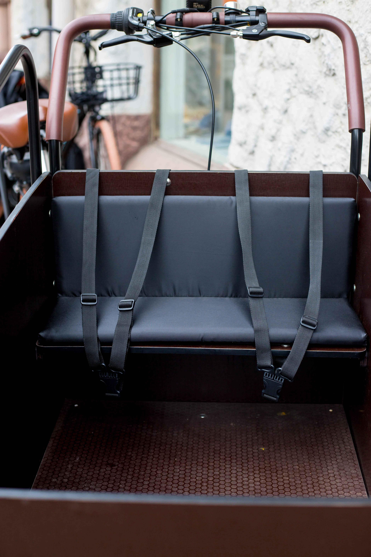 Wheelström cargobike seat lådcykel bänkdyna laatikkopyörän penkkityyny