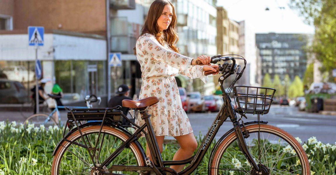 Wheelström sähköpyörä elcykel electric bike kallio
