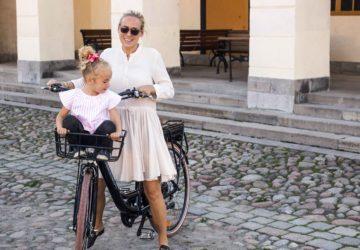 Wheelström sähköpyörä elcykel electric bike Edita Renlund Foodjunkie
