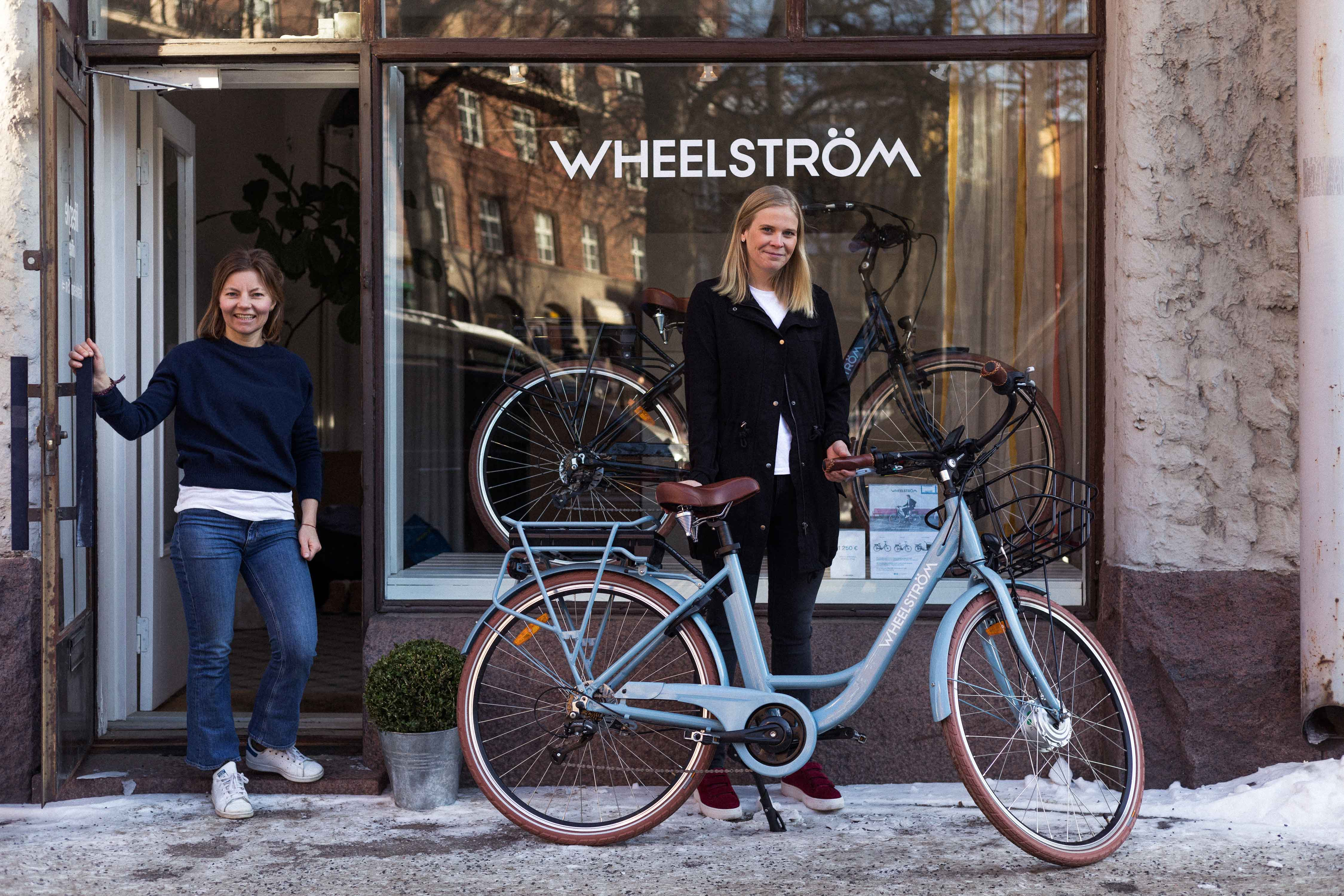 Wheelström welcome välkommen tervetuloa